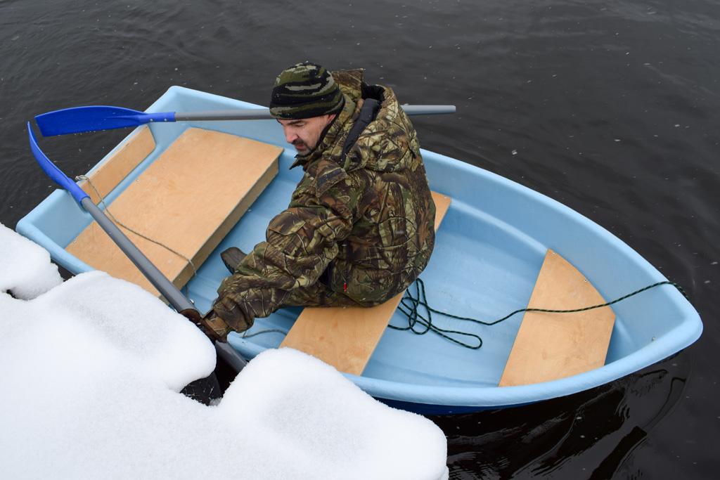 лодка для волнения