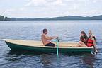 """VIZA-яхт: На лодке  """"Нейва-4 """" легко гребсти."""